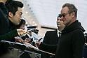 Sting arrives in Japan