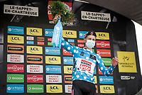 polka dot jersey / KOM leader Matthew Holmes (GBR/Lotto Soudal)<br /> <br /> 73rd Critérium du Dauphiné 2021 (2.UWT)<br /> Stage 6 from Loriol-sur-Drome to Le Sappey-en-Chartreuse (167km)<br /> <br /> ©kramon