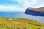 View of Dunvegan Head and the Outer Hebrides, Isle of Skye