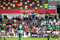 9th October 2021; Brentford Community Stadium, Brentford, London; Gallagher Premiership Rugby, London Irish versus Leicester Tigers; London Irish fans in the stands