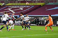 Jarrod Bowen of West Ham United scores the second Goal and celebrates during West Ham United vs Aston Villa, Premier League Football at The London Stadium on 30th November 2020