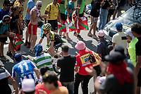 Adam Yates (GBR/Mitchelton-Scott) up the Tourmalet (HC/2115m/19km @7.4%)<br /> <br /> Stage 14: Tarbes to Tourmalet(117km)<br /> 106th Tour de France 2019 (2.UWT)<br /> <br /> ©kramon