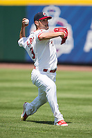 Jaime Garcia (39) of the St. Louis Cardinals throws a ball to warm up prior to a rehab game with the Springfield Cardinals against the Tulsa Drillers at Hammons Field on May 4, 2014 in Springfield, Missouri. (David Welker/Four Seam Images)