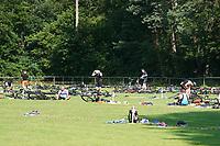 Wechselzone am Stadion- Mörfelden-Walldorf 18.07.2021: MoeWathlon