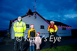 Attending the Banna Rescue as they light their Christmas tree in Banna on Sunday. L to r: Thomas, Amy and Ava Fitzgerald and John Sheehan.