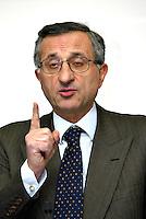 Vito Gamberale amministratore delegato societa Autostrade per l'Italia <br /> Foto Andrea Staccioli Insidefoto