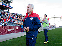 Commerce City, CO - April 5, 2014: The US women's national team defeated China 2-0 during an international friendly at Dick's Sporting Goods Park.