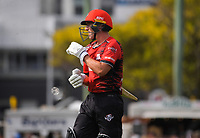 Kings captain Cole McConchie during the Dream11 Super Smash T20 men's cricket final between Wellington Firebirds and Canterbury Kings at the Basin Reserve in Wellington, New Zealand on Saturday, 13 February 2021. Photo: Dave Lintott / lintottphoto.co.nz