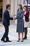Queen Letizia of Spain attends to 'Reina Letizia' Disability 2016-2017 awards at El Pardo Palace in Madrid, Spain. November 21, 2017. (ALTERPHOTOS/Borja B.Hojas)