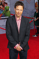 """HOLLYWOOD, LOS ANGELES, CA, USA - MARCH 11: George Newbern at the World Premiere Of Disney's """"Muppets Most Wanted"""" held at the El Capitan Theatre on March 11, 2014 in Hollywood, Los Angeles, California, United States. (Photo by Xavier Collin/Celebrity Monitor)"""