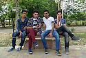 Iraq 2015  Teenagers in a park of Erbil<br />Irak 2015 Adolescents dans un parc d'Erbil