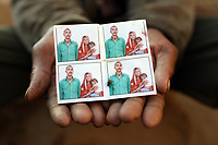 Ramesh Chander (30) holds a picture of his sister, brother-in-law and their infant child, Karan Valmaki, who died of blood cancer in 2013, aged only 2. It is thought that this was linked to uranium toxicity caused by excessive pesticide use in the region over the past 30-40 years has led to the accumulation of dangerous levels of toxins such as uranium, lead and mercury which are contributing to increased health problems including cancers, birth defects and mental disabilities in children. It's a hidden epidemic which is gripping the Punjab region in northeast India which for decades has been the country's 'bread basket'. As local farmers and their families continue to get ill they are paying the price for the country's 'Green Revolution'.