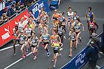 © Joel Goodman - 07973 332324 . 22/05/2016 . Manchester , UK . Start of women's race on Portland Street . The Great Manchester Run in Manchester City Centre . Photo credit : Joel Goodman