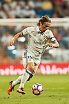 Luka Modric of Real Madrid in action during their La Liga match at the Santiago Bernabeu Stadium between Real Madrid and RC Celta de Vigo on 27 August 2016 in Madrid, Spain. Photo by Diego Gonzalez Souto / Power Sport Images