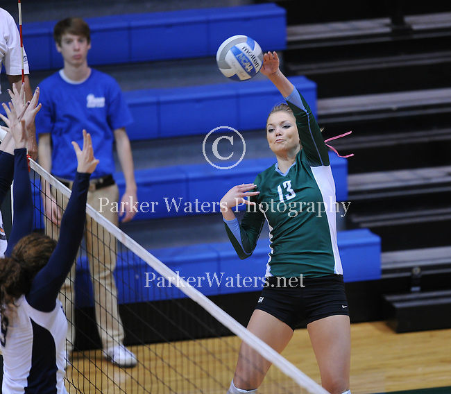 Tulane falls to Rice in the final home volleyball match of the season.