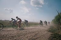 kicking up a dust storm<br /> <br /> 92nd Schaal Sels 2017 <br /> 1 Day Race: Merksem > Merksem (188km)