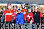 TRALEE CYCLING CLUB: Member's of Tralee cycling club who took part in the Jimmy Duffy Memorial Cycle in Blennerville on Saturday l-r: Kenneth Leahy, Teddy McCarthy, David Fitzgerald, Dick McElligott, Sinead Leahy and Denis Coffey.