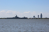 USS Alabama at Mobile