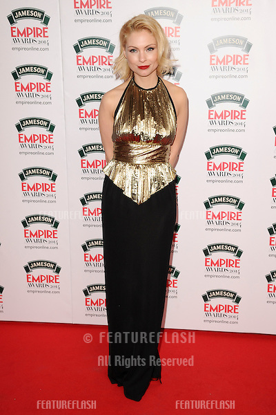 MyAnna Buring<br /> arives for the Empire Magazine Film Awards 2014 at the Grosvenor House Hotel, London. 30/03/2014 Picture by: Steve Vas / Featureflash