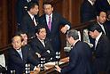 Shinzo Abe Attends Diet Session