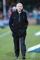 Sir Ian McGeechan, Bath Rugby Director of Rugby during the LV= Cup match between Exeter Chiefs and Bath Rugby at Sandy Park Stadium on Sunday 5th February 2012 (Photo by Rob Munro)