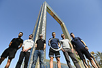 Top riders press conference for the Dubai Tour 2018 the Dubai Tour's 5th edition held at Dubai Frame in Zabeel Park, Dubai, United Arab Emirates. 5th February 2018.<br /> Picture: LaPresse/Fabio Ferrari | Cyclefile<br /> <br /> <br /> All photos usage must carry mandatory copyright credit (© Cyclefile | LaPresse/Fabio Ferrari)