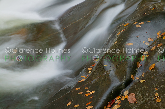 Fall river scene on the West Prong Little Pigeon River in Great Smoky Mountains National Park