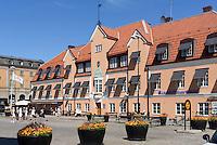 Stortorget in Karlskrona, Provinz Blekinge, Schweden, Europa, UNESCO-Weltkulturerbe<br /> Stortorget in Karlskrona, Province Blekinge, Sweden