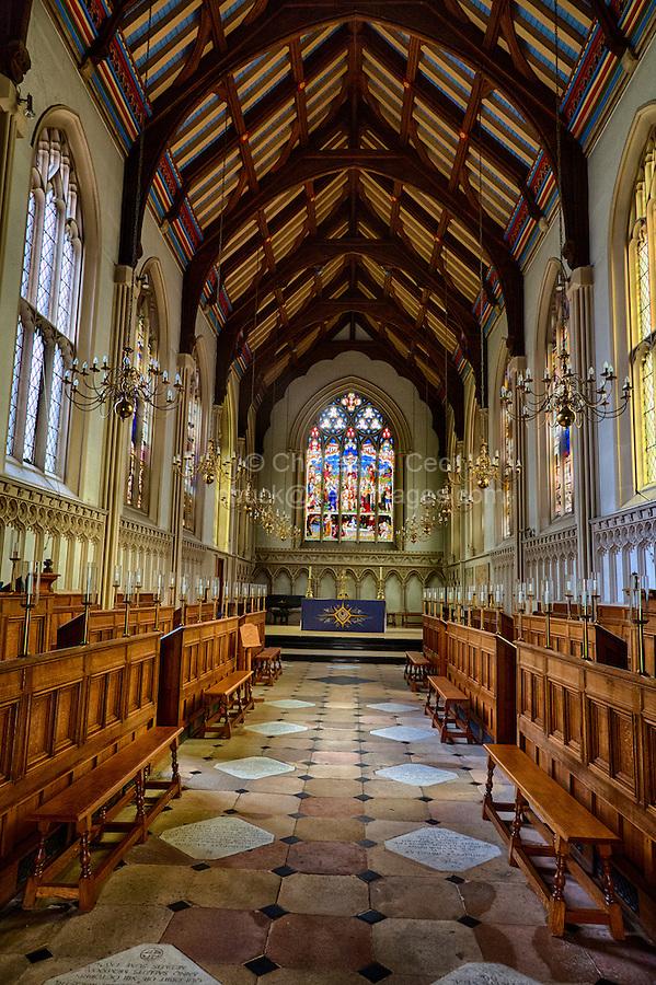 UK, England, Cambridge.  Corpus Christi College Chapel.