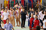 Masayo Imura (JPN), <br /> AUGUST 10, 2014 - Synchronised Swimming : <br /> Japan Synchro Challenge Cup 2014 <br /> Exhibition <br /> Team Technical Routine <br /> at Tatsumi International Swimming Pool, Tokyo, Japan. <br /> (Photo by YUTAKA/AFLO SPORT) [1040]