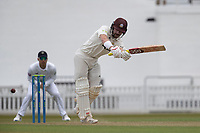 Rory Burns of Surrey CCC glances to the on side for runs during Surrey CCC vs Hampshire CCC, LV Insurance County Championship Group 2 Cricket at the Kia Oval on 30th April 2021