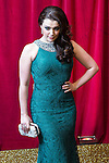 © Licensed to London News Pictures . 16/05/2015 .  The Palace Hotel , Manchester , UK . Sarah George . The red carpet at the 2015 British Soap Awards , The Palace Hotel , Oxford Road , Manchester . Photo credit : Joel Goodman/LNP
