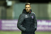 Potters Bar manager Lee O'Leary during Haringey Borough vs Potters Bar Town, Pitching In Isthmian League Premier Division Football at Coles Park Stadium on 28th September 2021