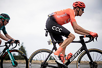 Michael Schär (SUI/CCC) is the last survivor of the early breakaway<br /> <br /> Stage 1: Clermont-Ferrand to Saint-Christo-en-Jarez (218km)<br /> 72st Critérium du Dauphiné 2020 (2.UWT)<br /> <br /> ©kramon