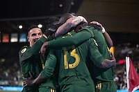 Portland, Oregon - Friday, March 3, 2017: Portland Timbers vs Minnesota United FC at Providence Park. Final Score Portland Timbers 5, Minnesota United FC 1