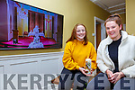 Colaiste na Sceilge Leaving Cert students Sarah Landers & Poppy Hillis watching their Graduation Mass on line last Thursday, due to the Government restrictions their Graduation has been postponed but will happen at a later date promised Principal Maurice Fitzgerald.