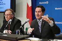 Montreal (Qc) CANADA - April, 2012 File Photo - Michael Applebaum, President Executive Commitee City of Montreal - Michael Applebaum is one of the possible replacement of Mayor Gerald Tremblay who resigned November 5, 2012.