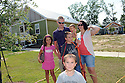Dedication of Covington homes by Habitat for Humanity in West St. Tammany, Covington..