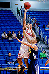 Brim Marlowe Antwaun #25 of Nam Ching Basketball Team shoots the ball against the Winling during the Hong Kong Basketball League game between Nam Ching vs Winling at Southorn Stadium on May 11, 2018 in Hong Kong. Photo by Yu Chun Christopher Wong / Power Sport Images
