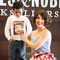 LOS ANGELES, CA, USA - NOVEMBER 22: Evangeline Lilly signs copies of her new book 'The Squickerwonkers' at the Barnes & Noble Bookstore at The Grove on November 2, 2014 in Los Angeles, California, United States. (Photo by Xavier Collin/Celebrity Monitor)