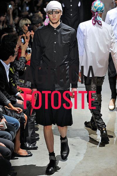 Paris, França – 28/06/2013 - Desfile de Comme des Garcons durante a Semana de moda masculina de Paris  -  Verao 2014. <br /> Foto: Zeppelin/FOTOSITE