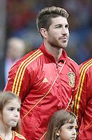 Spain's national team Sergio Ramos during match. October 16, 2012. (ALTERPHOTOS/Alvaro Hernandez) /NORTEPhoto