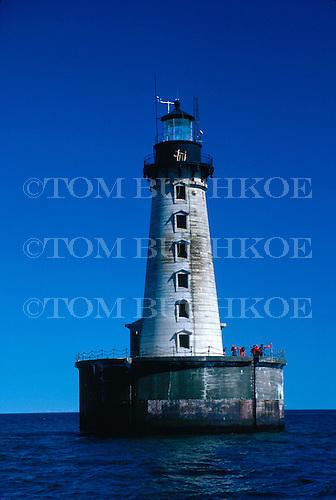 Stannard Rock Lighthouse, Lake Superior.