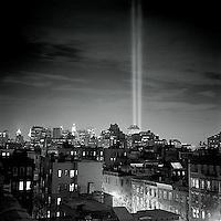 """Tribute in Light"" Memorial for the World Trade Center<br />"