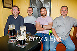 Enjoying the evening the in Sean Og's on Saturday, l to r: Sean Greaney, John O'Mahoney, Kevin Maguire and Kieran Kelliher.