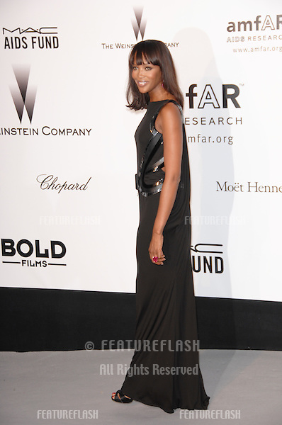 Naomi Campbell at amfAR's Cinema Against AIDS 2007 Gala at Le Moulin de Mougins restaurant just outside Cannes. .May 23, 2007  Cannes, France..© 2007 Paul Smith / Featureflash