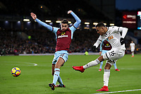 Martin Olsson of Swansea City during the Premier League match between Burnley and Swansea City at Turf Moor, Burnley, England, UK. Saturday 18 November 2017