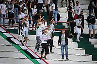 MANIZALES - COLOMBIA, 01-08-2021:Once Caldas y Millonarios en partido por la fecha 3 como parte de la Liga BetPlay DIMAYOR II 2021 jugado en el estadio Palogrande  de la ciudad de Manizales. / Once Caldas and Millonarios in match for the date 3 as part of the BetPlay DIMAYOR League II 2021 played at Palogrande stadium in Manizales city. Photo: VizzorImage / Ricardo Vejarano / Contribuidor