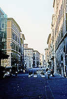 Italy: Perugia--Corso Vannucci, connecting 4 Novembre & Republica. Photo '83.