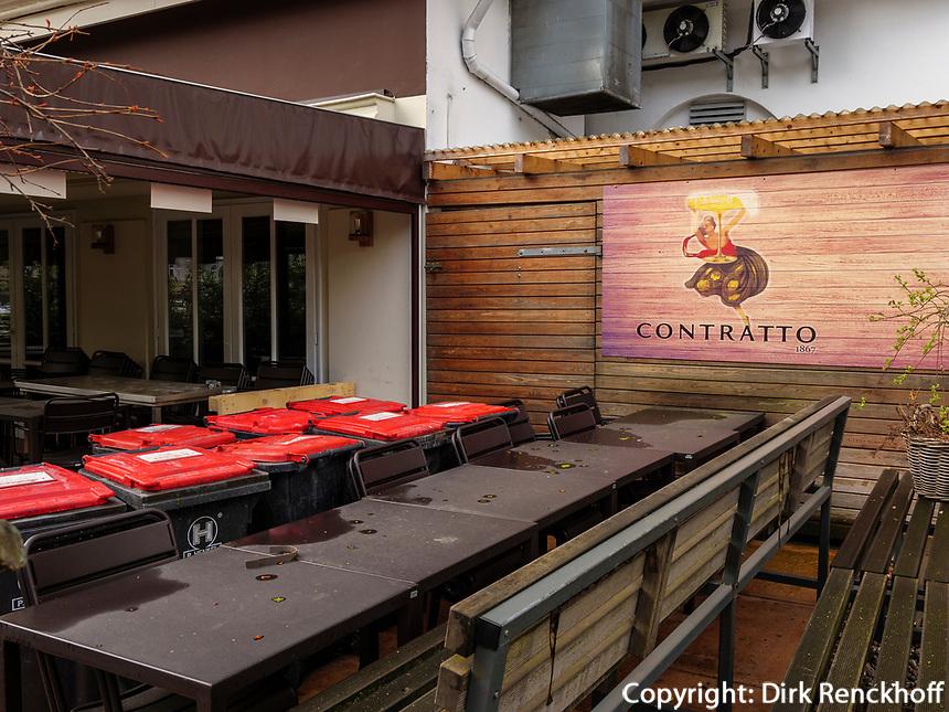 Italienisches Restaurant Cucina Matta, Curschmannstr. 5. in Hamburg-Hoheluft-Ost, Deutschland, Europa<br /> Italien Restaurant Cucina Matta, Curschmannstr. 5 in Hamburg-Hoheluft-Ost, Germany, Europe